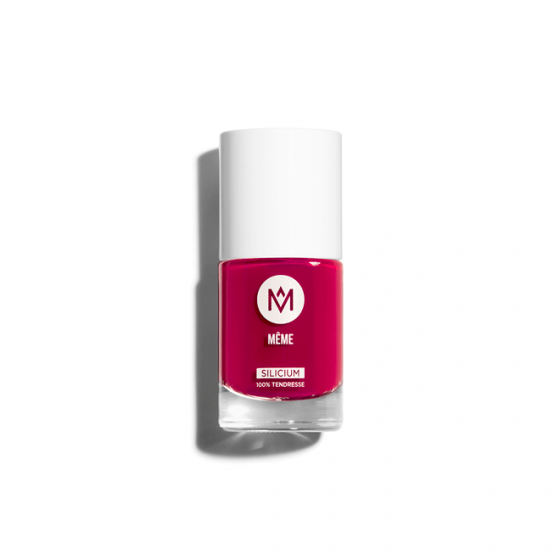 Raspberry Silicon Nail Polish - MÊME Cosmetics