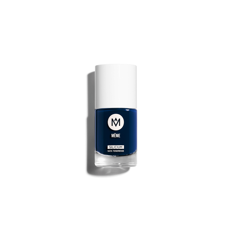 Navy Blue Silicon Nail Polish - MÊME Cosmetics
