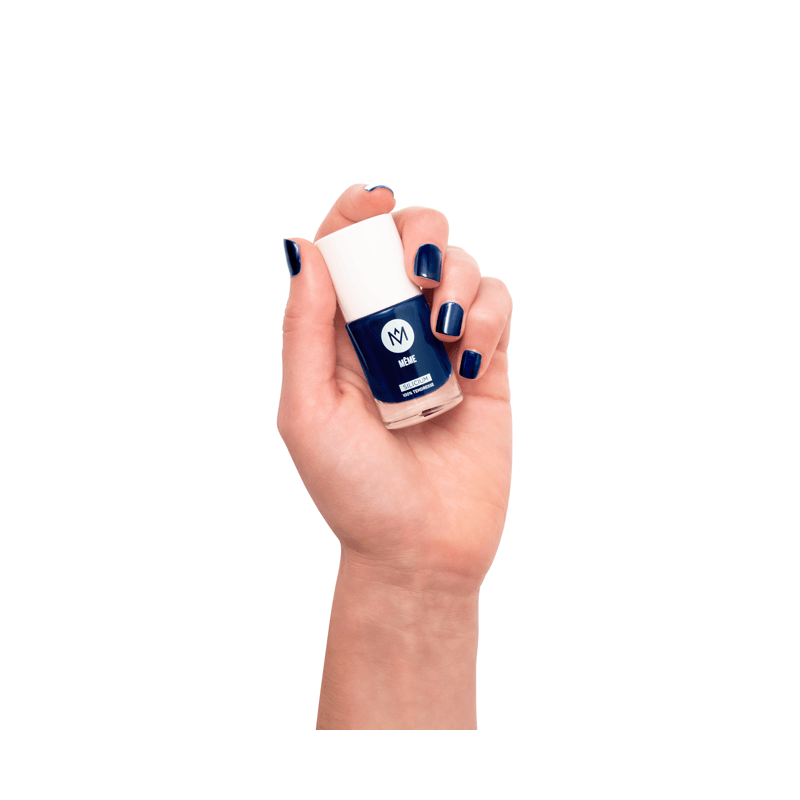 Le Vernis au Silicium Bleu Marine - MÊME Cosmetics