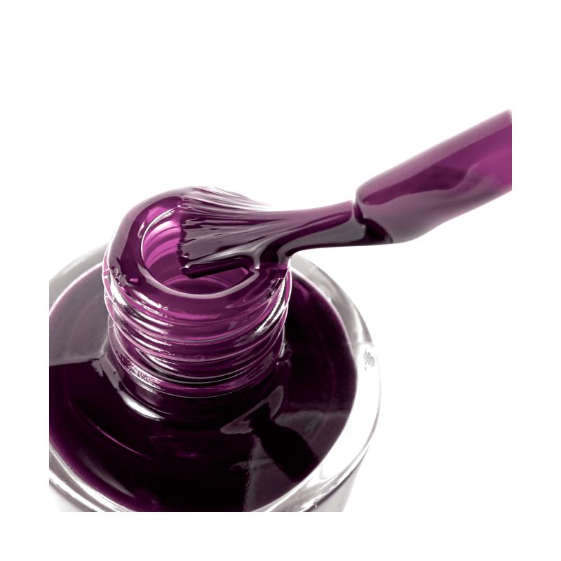 Le Vernis au Silicium Aubergine - MÊME Cosmetics