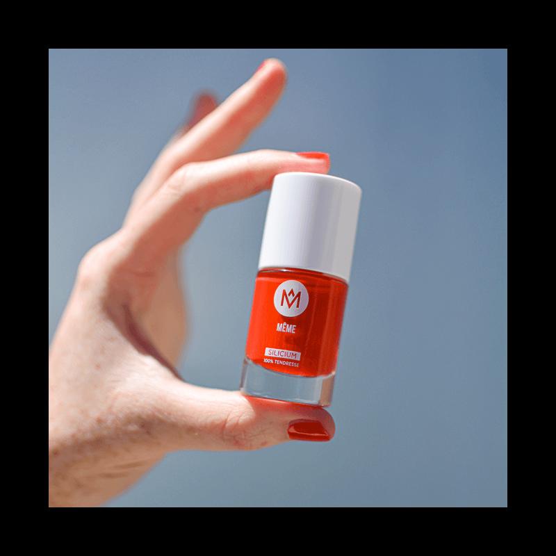Le Vernis au Silicium Orange Sanguine - MÊME Cosmetics