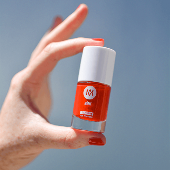 Le Vernis au Silicium Orange Sanguine - MÊME Cosmetics