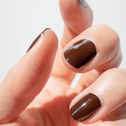 Chocolate Silicon Nail Polish - MÊME Cosmetics
