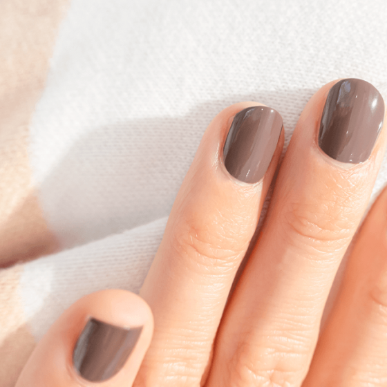Silicon Taupe Nail Polish - MÊME Cosmetics