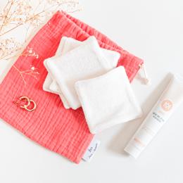 Édition limitée pommade démaquillante et 5 cotons démaquillants lavables pour un démaquillage en douceur - MÊME Cosmetics