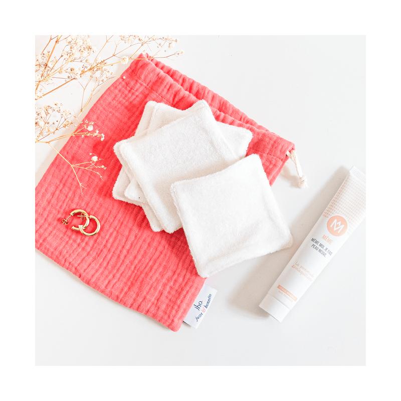 Limited edition with makeup remover balm and reusable washable cotton pads - MÊME Cosmetics