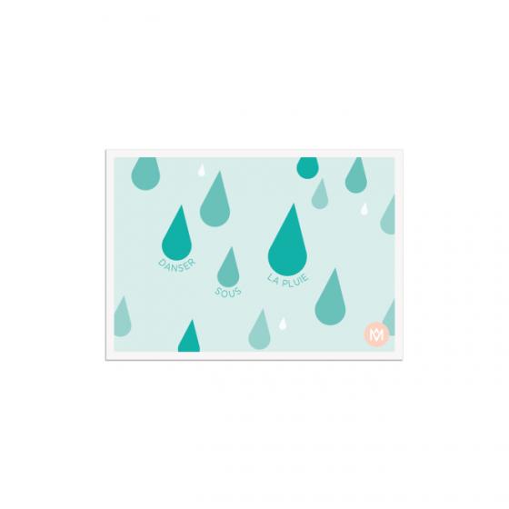 Carte dessinée par Même qui donne le sourire  -MÊME Cosmetics
