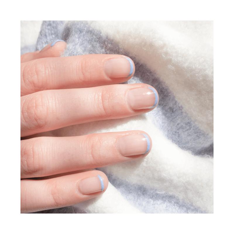 Vernis à ongles Bleu Lavande au Silicium - MÊME Cosmetics