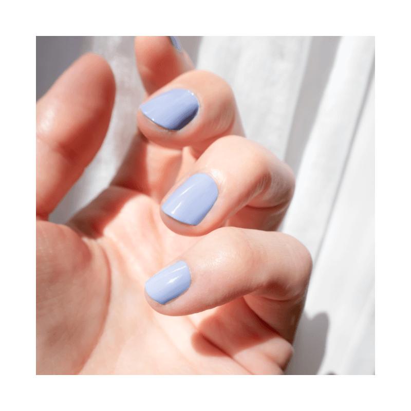 Long-lasting Lavender Blue Silicon Nail Polish - MÊME Cosmetics