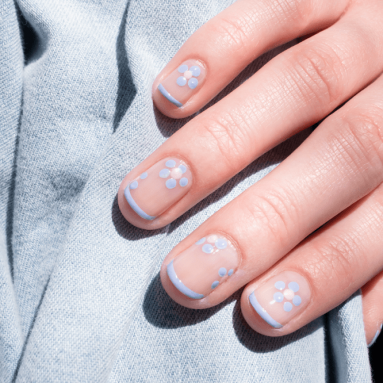 Vernis Bleu - MÊME Cosmetics