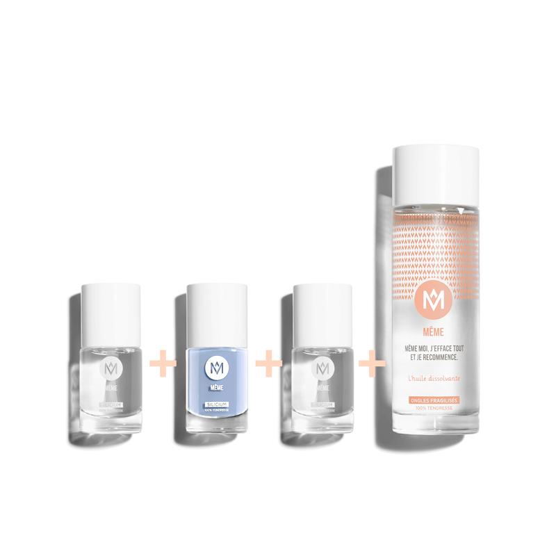 Kit Manucure Bleu Lavande - MÊME Cosmetics