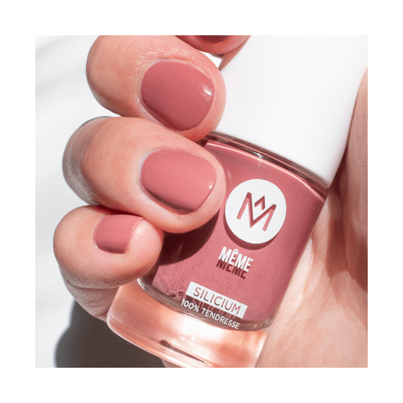 Rosewood Silicon Polish - Damaged and brittle nails - MÊME Cosmetics
