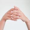 Nude Nail Polish and manicure - MÊME Cosmetics