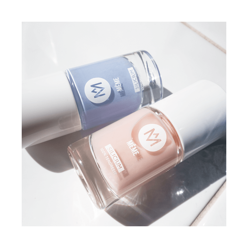 Lavender and Nude Nail Polish - MÊME Cosmetics