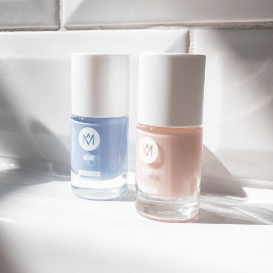 Lavender and Nude Nail Polish Duo Set - MÊME Cosmetics