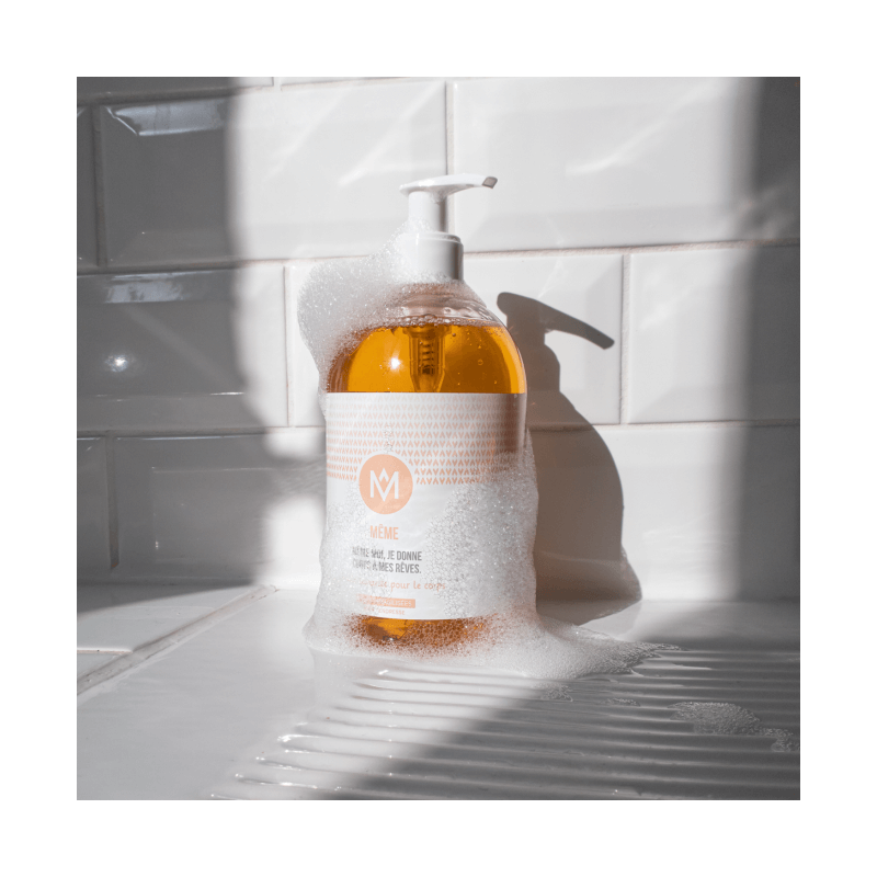 Cleansing oil to wash and moisturise sensitive skin - MÊME Cosmetics