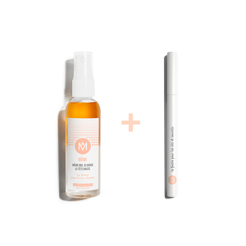 Scalp Mist and Eyebrow Pencil - MÊME Cosmetics