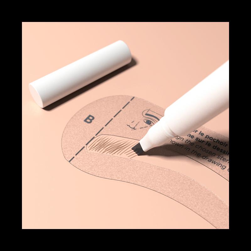 Le feutre 2 en 1 pour redessiner ses sourcils - MÊME Cosmetics
