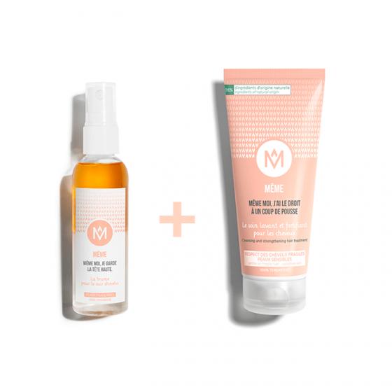 Moisturise sensitive scalp - MÊME Cosmetics