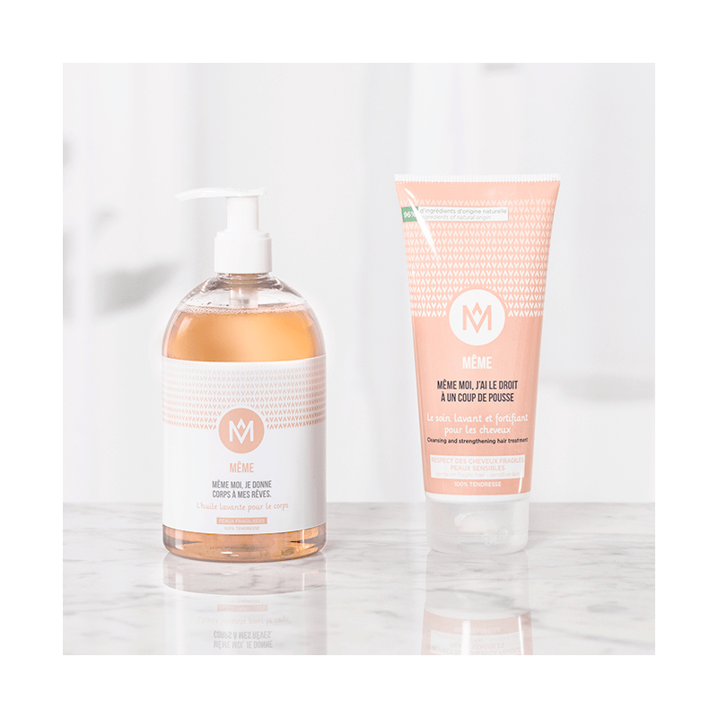 Shower essentials for dry and sensitive skin during cancer treatments - MÊME Cosmetics