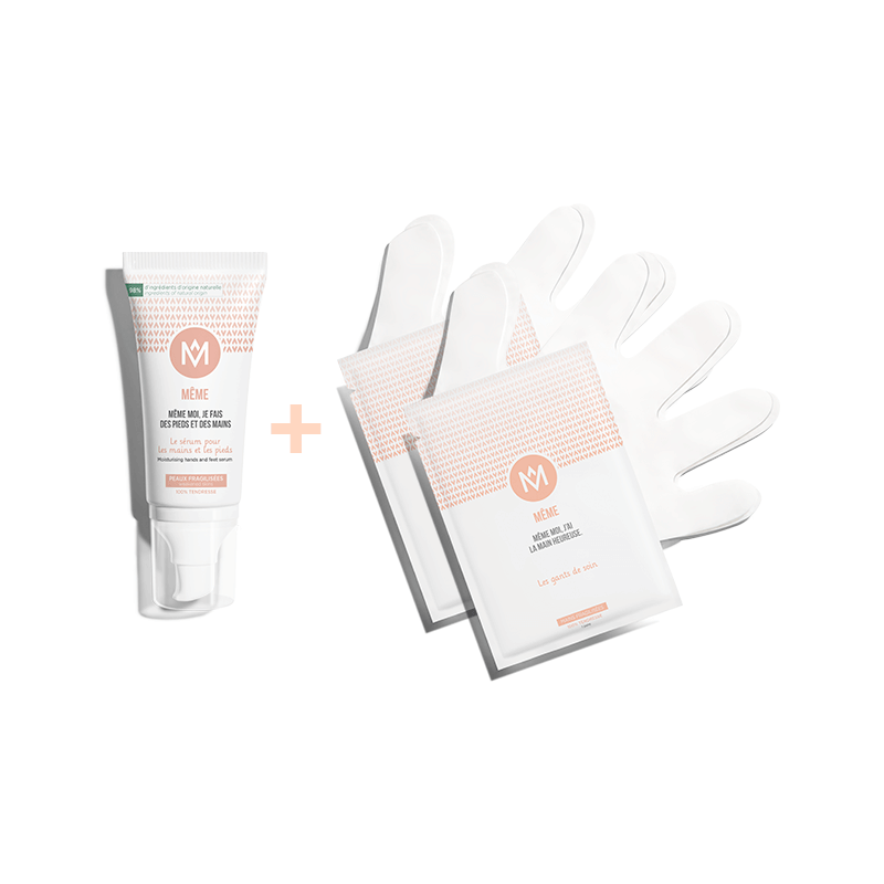 Kit with the Hand and Foot Serum and the Nail Care Pen - MÊME Cosmetics