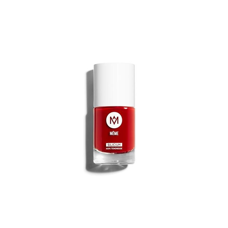 Le Vernis Rouge enrichi au SILICIUM, MÊME Cosmetics