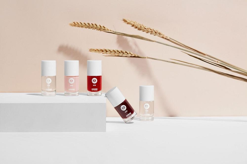 Gamme vernis à ongles silicium MÊME Cosmetics