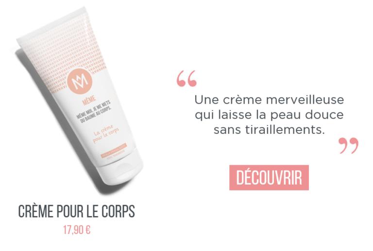 Crème hydratante corps aloe vera meme cosmetics