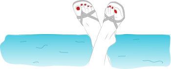 4 étapes pour des jolis pieds, même pendant mon cancer !
