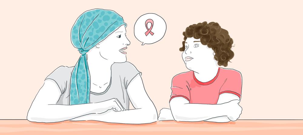 Cancer - trouver les mots justes pour en parler aux enfants- même cosmetics