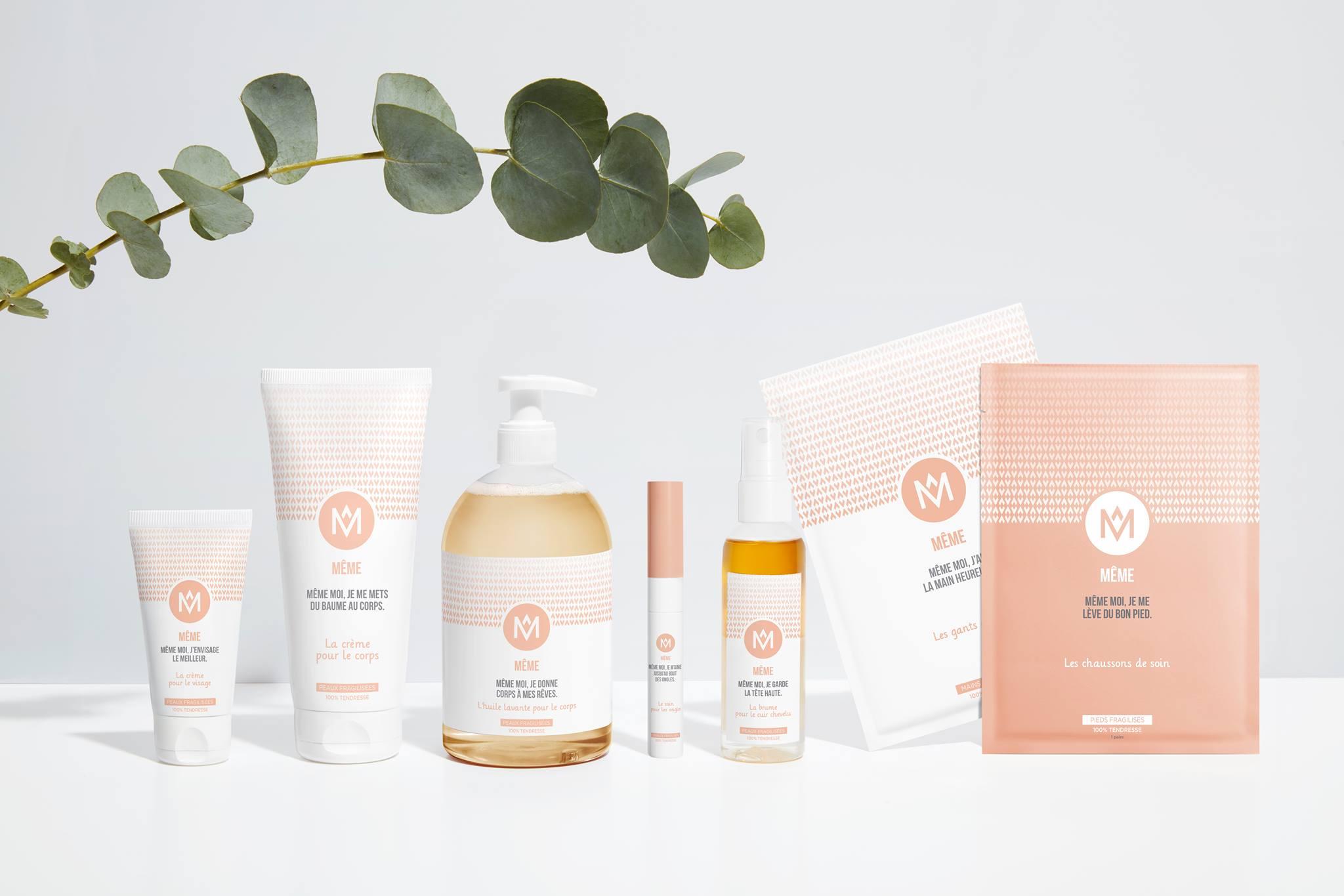 La gamme MÊME, 7 produits développés pour et par les femmes concernées par le cancer