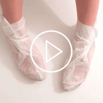 Tuto : Comment lutter contre le syndrome mains-pieds avec les chaussons de soin MÊME