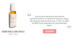 Brume pour cuir chevelu repousse cheveux cancer meme cosmetics