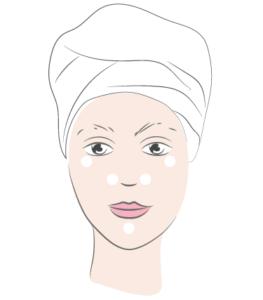 application correcteur MÊME Cosmetics
