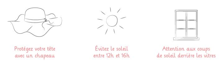 Limiter son exposition au soleil