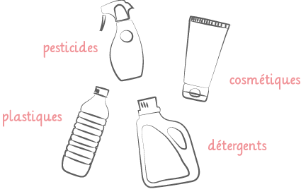 perturbateurs endocriniens - produits nocifs