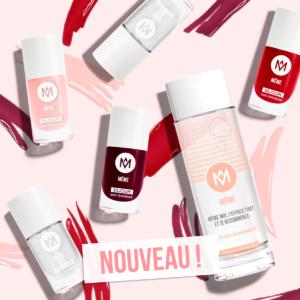 Lancement gamme vernis MÊME Cosmetics