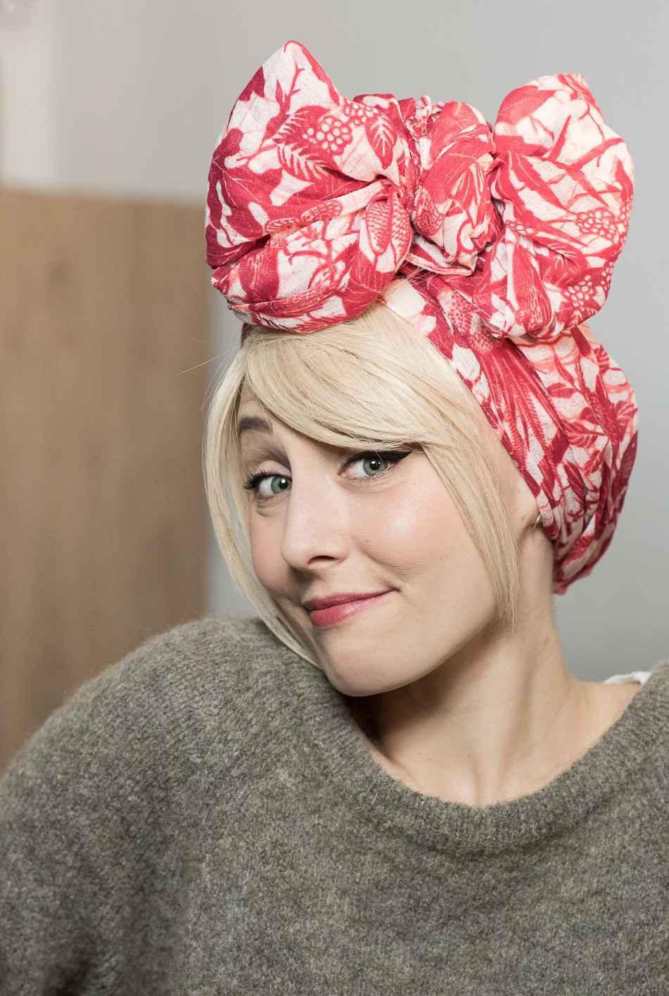 Julie Meunier Les Franjynes foulard - MÊME Cosmetics