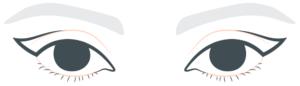 Cils-et-cancer-le-trompe-l'oeil-de-l'eye-liner-geometrique