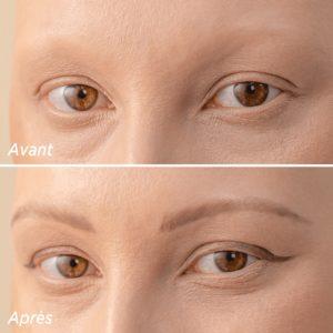 Cils-et-cancer-le-trompe-l'oeil-de-l'eye-liner-le-feutre-cils-sourcils-meme-cosmetics-avant-apres