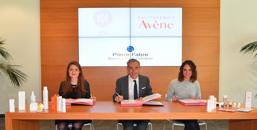 Pierre-Fabre-Dermo-cosmetiques-signent-un-partenariat