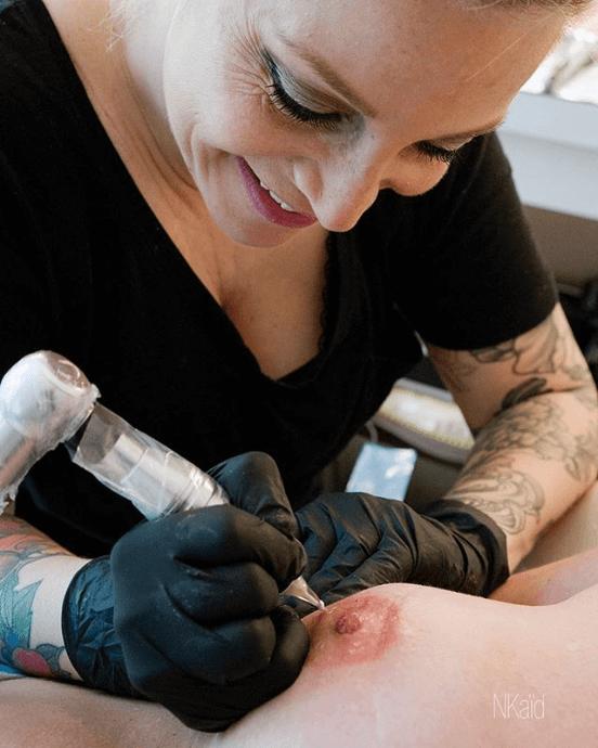 mastectomie tatouage de tétons