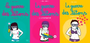 même cosmetics - Trilogie de la guerre des tétons, Lili Sohn, ed. Michel Lafont