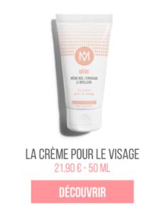 La crème visage MÊME cosmetics