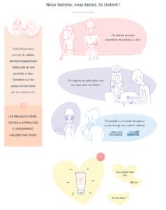 développement des produits cosmétiques cancer meme cosmetics