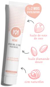 Ingrédients pommade démaquillante MÊME Cosmetics