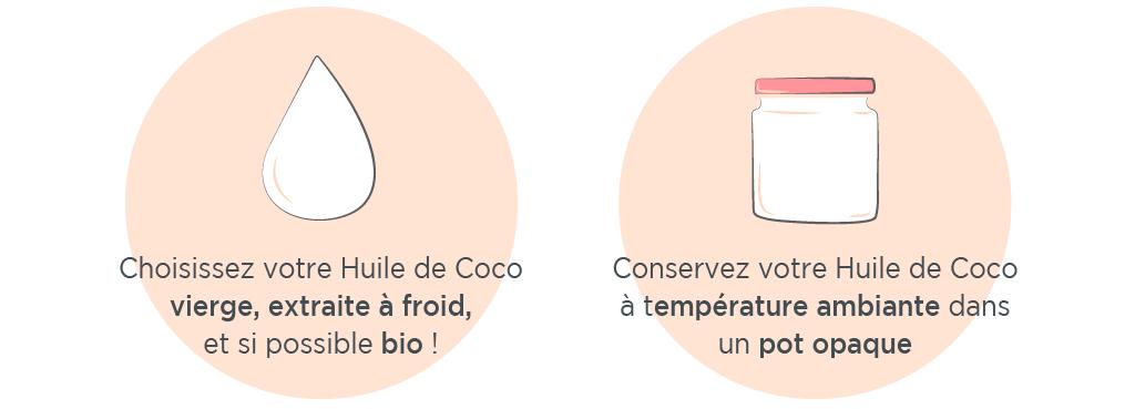comment choisir huile de coco