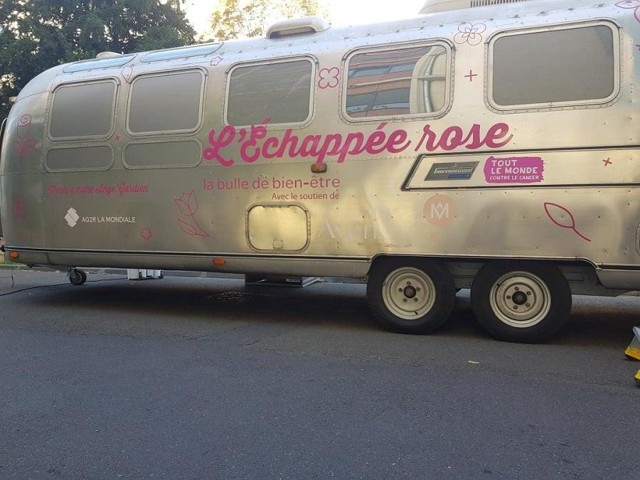 Caravane Echappée rose