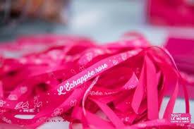bracelet échappée rose