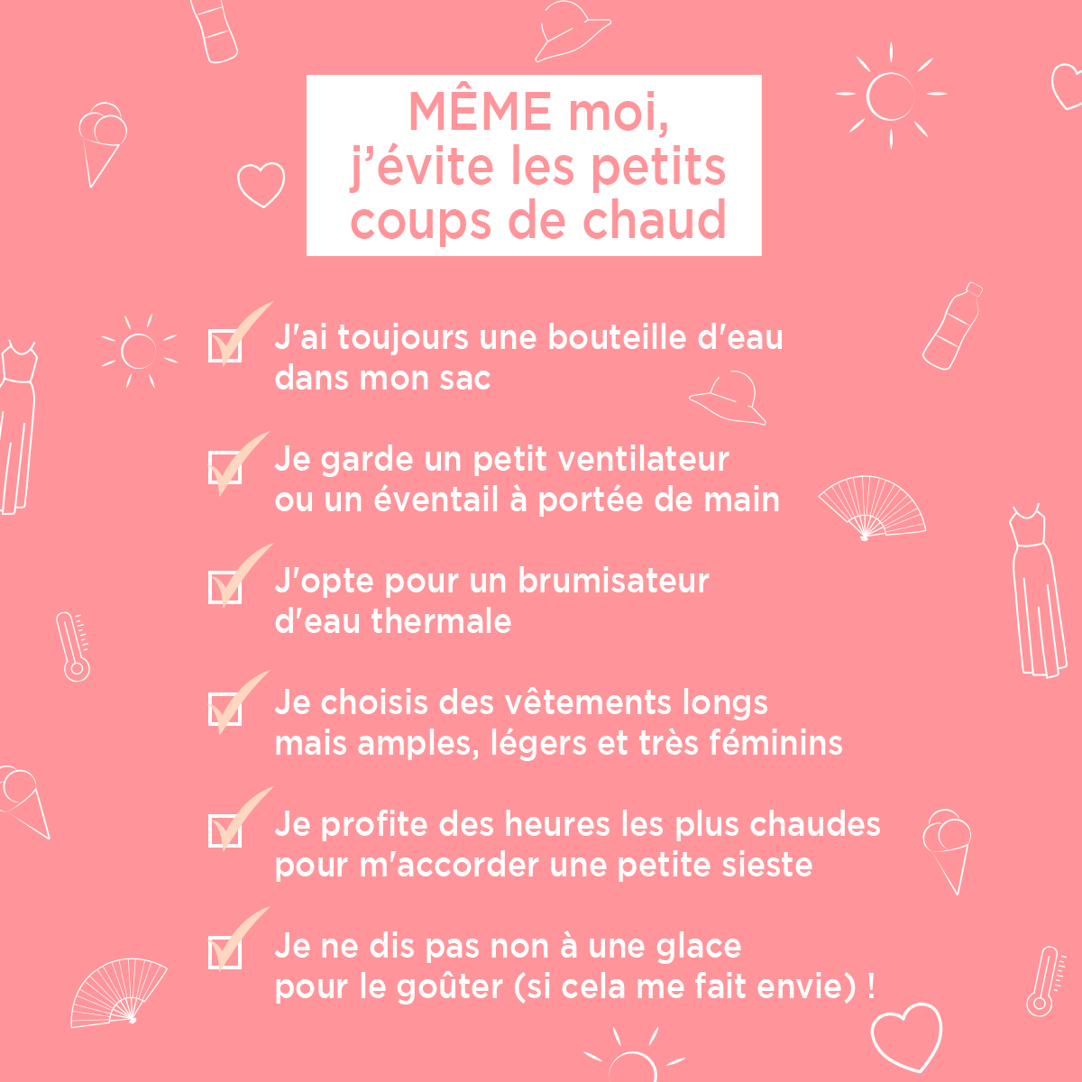 Check List de l'été